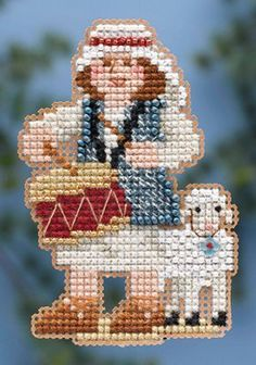 Mill Hill Winter Holiday Collection Drummer Boy by DebiCreations, $6.45