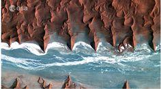 Namib Desert in southwestern Africa. (Image credit: KARI/ESA) Satellite image acquired by KOMPSAT-2 satellite January 2012.