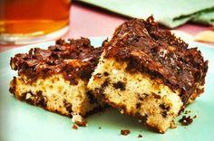 Varomeando: Bizcocho con cobertura de almendras y chocolate
