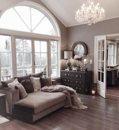 Family room designs, furniture and decoration ideas home-furniture. Home Living Room, Living Room Decor, Living Spaces, Classy Living Room, Home And Deco, My New Room, Home Fashion, 90s Fashion, Home Decor Inspiration