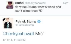 Same here, Patrick, Same here.