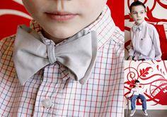A tie bow-tie