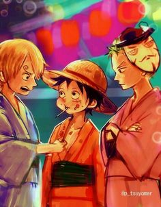 Sanji x Luffy x Zoro Yaoi One Piece come visit my board it is called ''one piece anime'' it has collections of couples, gender bends, gifs and more