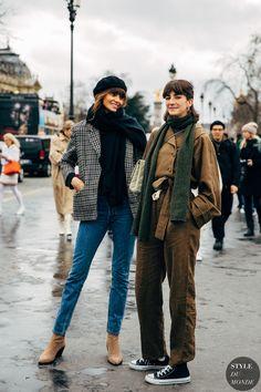 Paris FW 2019 Street Style: Cris Herrmann and Sinara Barbosa - STYLE DU MONDE   Street Style Street Fashion Photos Cris Herrmann and Sinara Barbosa