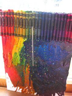Crayola Crayon do it yourself craft!