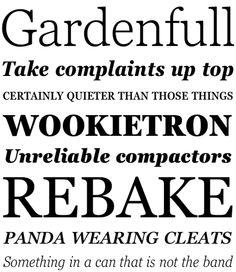 Georgia Pro (Font Bureau + Carter & Cone + Monotype) 11.2011