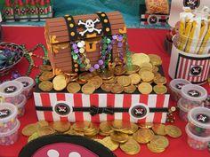 Mesa de dulces de piratas una muy buena idea para tus fiestas de verano