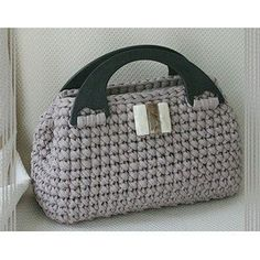 Hæklet 'Mirjana' Håndtaske