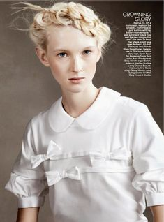 Teen Vogue February 2014 | Nastya Sten, Charlotte Carey + More by  Christian Macdonald