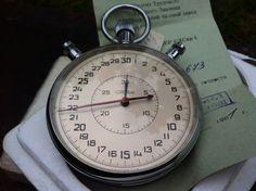 StopwatchSoviet Union chronometer USSR  Stopwatch by CodettiSupply, $86.00