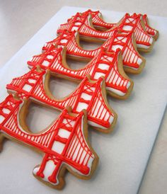 Cute little cookies in the shape of the bridge. (Photo courtesy of SusieCakes)