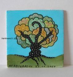 Tiere und Kunst von Herbivore11 - Funkelbäumchen Nr. 6