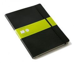 Moleskine Classic Notebook (Extra Large, Plain, Soft Cover)
