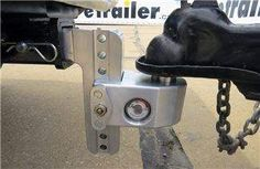 Weigh Safe ball mount coupled to a trailer Truck Accesories, Trailer Coupler, Trailer Hitch Receiver, Best Trailers, Bull Bar, Weight Scale, Trucks, Drop, Truck