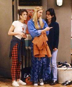 Rachel, Phoebe & Monica