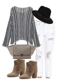 Untitled #807 by deleanorr-inspired on Polyvore featuring polyvore fashion style Forever 21 French Connection Janessa Leone clothing
