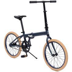 retrospecbicycles.com - Speck Folding Bike Matte Navy, Retrospec Bicycles - 7
