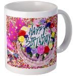 Happy Birthday Mug 4u! Mug  http://www.cafepress.com/lovepositivethinking/9110563