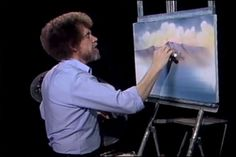 Bob Ross Full Episode! Ignore the drinking references