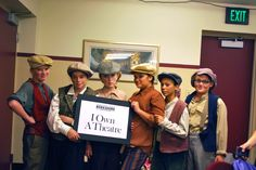 Meet some of the ladies from Fagin's Gang! If you love #ArtsEducation, then be sure to come to BTG's #IOwnATheatre #Gala on 11/10/12 to support BTG's education programs! http://www.berkshiretheatregroup.org/events/special/323-save-the-date.html