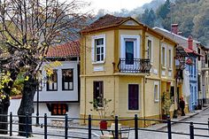 Florina, Greece Macedonia, Paul The Apostle, Greek History, Heaven On Earth, Beautiful Homes, Mansions, House Styles, Places, Landscapes