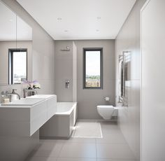 5, Jersey street, Bethnal Green#Bathroom White Bathroom Tiles, Bathroom Layout, Bathroom Storage, Modern Bathroom, Bethnal Green, False Ceiling Design, Dream Bathrooms, Cozy Living Rooms, Toilets