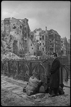 32 Rare and Amazing Vintage Photographs Capture the Ruins of Berlin Through a Soviet War Photographer ~ vintage everyday