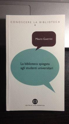 Un bel manuale di Mauro Guerrini a cui ho contribuito anch'io!