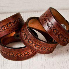 Earthday Spring Fashion Retro Cuff Bracelet Leather Cuffs
