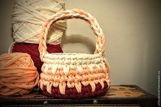 Вяжем крючком из трикотажной пряжи пасхальную корзинку - Ярмарка Мастеров - ручная работа, handmade