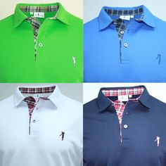 Polo T Shirts, Sports Shirts, Sport Shirt Design, Casual Outfits, Men Casual, Camisa Polo, Core Collection, Cute Stickers, Shirt Designs