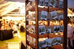 Polaroid station for guests to take and leave pictures of their experiences and memories for the great day!   (Photo by: David Murphey)