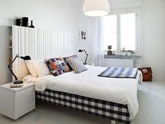 Habitación estilo nórdico - Nordic style bedroom 1