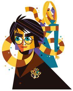 Harry Potter - Pablo | Illustrator | Anna Goodson Illustration Agency