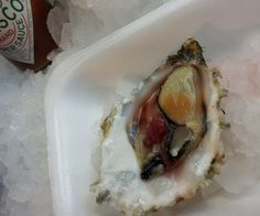 Rock oyster – £1.50 | How To Eat Everything At Borough Market For Only £20