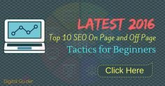 Wants to the first page google ranking. We have brought latest 2016 #top10 #SEO on page and off page #tactics. How to become an SEO expert tips and tricks.