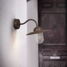 Nordlux Luxembourg Outdoor Wall Light - Rust