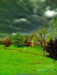 Title: Storm Anticipation Artist: PainterArtist FIN Medium: Photograph - Photograph