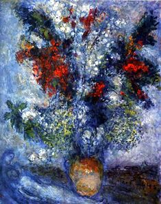marc-chagall-flower-bouquet-1982-oil-on-canvas-81-x-65-private-collection