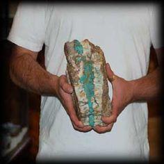 Raw Chrysocolla on Quartz Crystal Bulk Lot 1500cts Nevada RoughMineral Gemstone