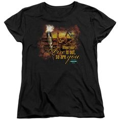 "Checkout our #LicensedGear products FREE SHIPPING + 10% OFF Coupon Code ""Official"" Survivor / Fires Out - Short Sleeve Women's Tee - Survivor / Fires Out - Short Sleeve Women's Tee - Price: $29.99. Buy now at https://officiallylicensedgear.com/survivor-fires-out-short-sleeve-women-s-tee"