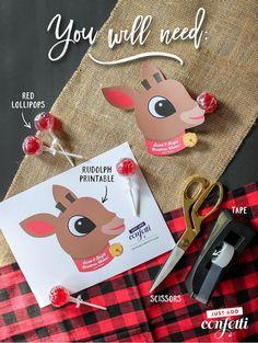 Christmas Classroom Treats, Student Christmas Gifts, Christmas Treat Bags, Kids Christmas Ornaments, Cheap Christmas Gifts, Christmas Activities For Kids, Christmas Ideas, Christmas Crafts, Reindeer Christmas
