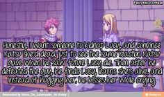 Natsu's love will be tested if this happen XD but then he will find Lucy! :D  - Fairy Tail