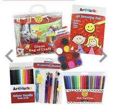 Art & Craft Activity bundle Felt Tip Markers, Little Cherubs, Craft Activities, Arts And Crafts, Entertaining, Drawings, Creative, Happy, Holiday
