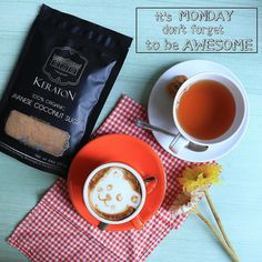 Happy Monday Everyone.. #organic #breakfast #monday #coconutsugar #organicfood #keratonorganic #coffee #tea #keraton #sugar #glutenfree #nongmo #nongmoproject #sustainable #healthy #health #healthyfood #lowgi #fairtrade #kosherfood #vegan #lifestyle #veganlife #gogreen #goorganic #followme #followforfollow #likeforlike#indonesiasehat #instagood
