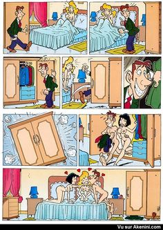 Funny and sexy images depicting famous toons