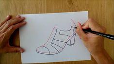 ¿Que calzado usas en la temporada de verano? 🌞👡  Las sandalias son el tipo de calzado con mayor presencia durante los meses más calurosos.  En este vídeo tutorial te enseñamos a diseñar de una manera muy sencilla.  ¿Quieres aprender a diseñar calzado? Te enseñamos 👩🏫  Vídeo COMPLETO en el Canal de Youtube 📺 Reinventando el Calzado
