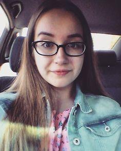 #labas #čia #aš #girl #selfie #car #friday #weekend #spring #may #jeans #jacket #pink #brunette #glasses #big #blue #eyes #instalike #instagram #instadaily #like4like #followme #happy #smile #love #lithuania #lietuva by agniessska