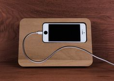 Cool looking iphone docking station