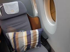 Lufthansa business class seats. #flights #lufthansa #businessclass